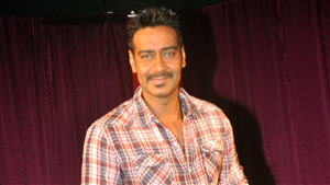 Cute Smile Face of Ajay Devgan