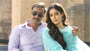 Raid Film Star Ajay Devgan with Ileana DCruz