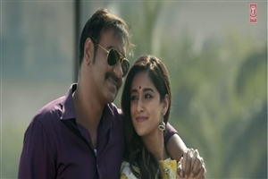 Raid Film Star Celebrity Ajay Devgan with Ileana DCruz