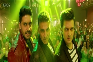 Akshay Kumar Abhishek Bachchan and Riteish Deshmukh in Housefull 3 HD Wallpaper