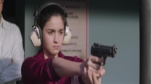 Alia Bhatt Gun Shooting in Film Raazi