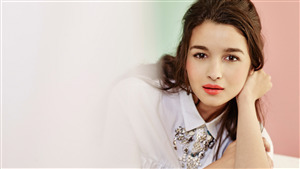 Cute Alia Bhatt Actress 4K Wallpaper