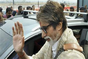 Amitabh Bachchan Near Car