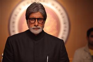 Amitabh Bachchan in Black Coat