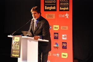 Amitabh Bachchan on iifa Awards Stage Bangkok