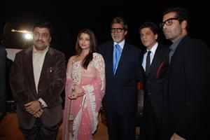 Amitabh Bachchan with Aish