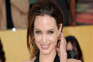 Cute Smile of Angelina Jolie Pics