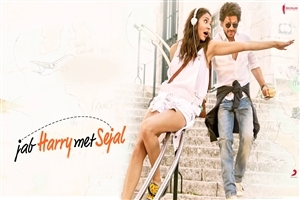 Anushka Sharma and Shah Rukh Khan in Jab Harry Met Sejal Film HD Wallpaper