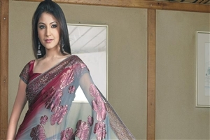 Bollywood Heroine Anushka Sharma in Saree