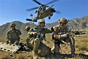 Three Army Man on Mission Image