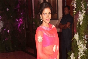 Celebrity Asin Thottumkal in Saree