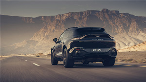 2021 Black Aston Martin DBX 4K Ultra HD Car Wallpaper
