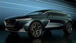 4K Wallpaper of 2019 Aston Martin Lagonda All Terrain Concept SUV Car