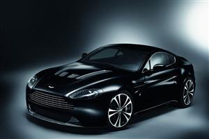 Aston Martin Carbon Black Editions Car