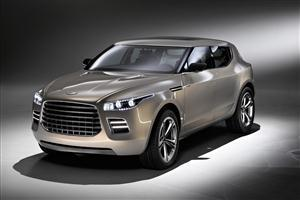 Aston Martin Lagonda Concept Car Wallpaper