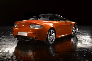 Aston Martin V8 Vantage Two Seater Convertible Car Wallpaper