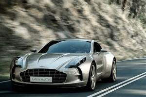 Aston Martin on Road Car Wallpaper