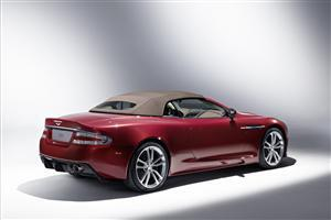 Back View of Aston Martin DBS Volante