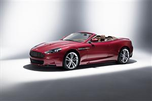 Beautiful Red Aston Martin DBS Volante