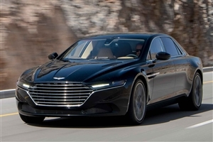 New Latest Aston Martin Lagonda 2015 Black Luxury Car HD Wallpaper