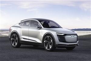 2018 Latest Audi E Tron Sportback Car