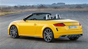 4K Pic of 2019 Audi TT Roadster S line Car