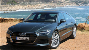 4K Wallpaper of Audi A7 Car