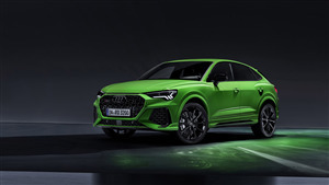 4K Wallpaper of New 2019 Audi RS Q3 Sportback Car