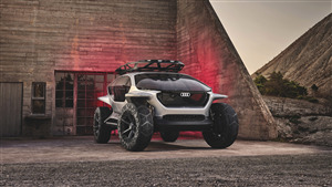 Audi Ai Trail Quattro Electric Off Roader Frankfurt 5K Wallpaper