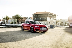 Audi S5 Sportback 2018 Red Car Photo