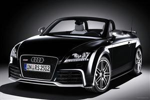 Black Audi TT RS Roadster 5 Car Wallpapers