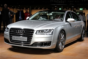 New Audi A8 2015 Luxury Car Wallpaper