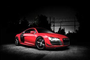 Red Audi R8 GT Car Wallpapers