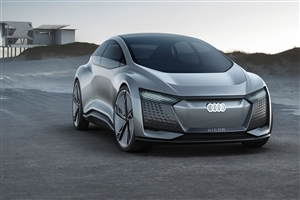 Superb Audi Elaine Concept Car