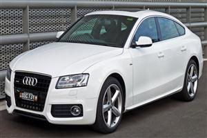 White Audi A5 8T Cars Wallpapers