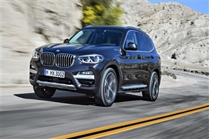 2018 BMW X3 Car On Road HD Wallpaper