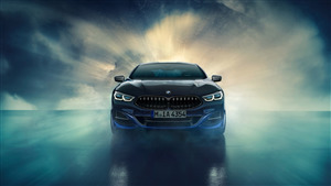 4K Image of 2019 BMW Individual M850i xDrive Night Sky Car