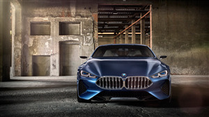 BMW 8 Series 4K Car