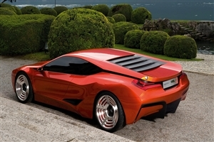 BMW Concept Car HD Wallpaper