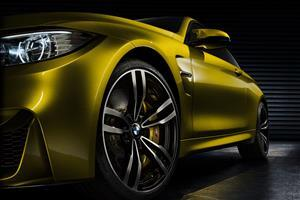 BMW Concept M4 Coupe Front Quarter View Image