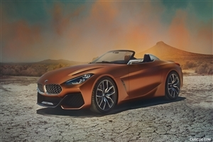 BMW Z4 2018 Car Wallpaper