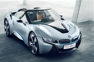 BMW i8 Car Wallpaper