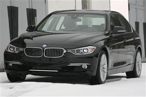 Black BMW 328i F30 2012 Car Wallpapers
