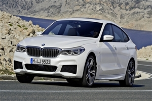 Latest 2018 BMW 6 Series Gran Coupe White Car