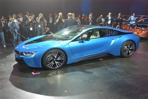 Latest New Protonic Blue BMW i8 Luxury Two Seater at Launch Time Wallpapers