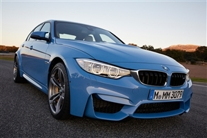 New Blue BMW M3 High Racing Car Wallpaper
