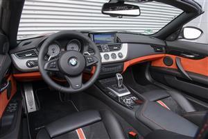 Nice BMW Z4 Car Interior Photo