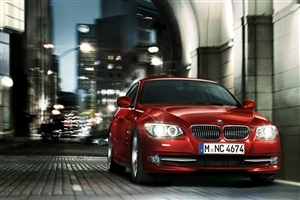Red BMW Car HD Wallpaper