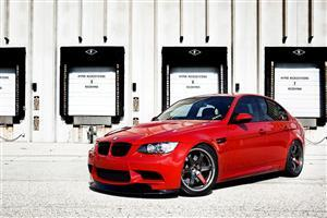 Red BMW Car Wallpaper