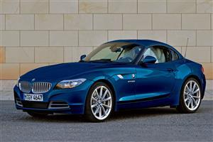 Super Blue BMW Z4 Two Seater Car Wallpapers
